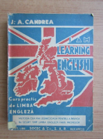 Anticariat: Ion Aurel Candrea - I am learning english (1948)