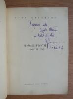 Anticariat: Olga Greceanu - Femmes peintres d'autrefois (cu autograful autoarei)