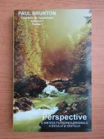 Paul Brunton - Perspective