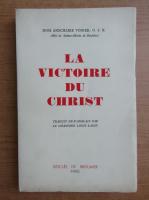 Anticariat: Anschaire Vonier - La victoire du Christ (1935)