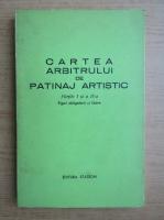 Anticariat: Cartea arbitrului de patinaj artistic