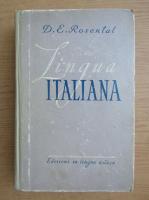Anticariat: D. E. Rosental - Lingua italiana
