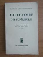 Directoire des superieures