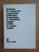 Anticariat: Eugenia Farca - Dictionar de conducere, organizare productiei, programarea si marketing englez-roman