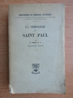 Anticariat: Fletcher Pratt - La theologie de Saint Paul (1941)