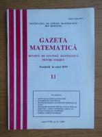 Anticariat: Gazeta matematica, anul CVIII, nr. 11, 2003