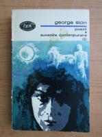 George Sion - Suvenire contimpurane. Poezii (volumul 1)