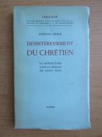 Georges Didier - Desinteressement du chretien