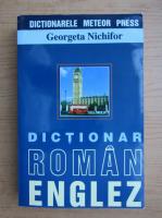 Anticariat: Georgeta Nichifor - Dictionar roman-englez