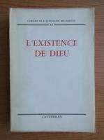 Anticariat: L'existence de Dieu