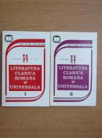Anticariat: Literatura clasica romana si universala. Clasele I-IV (2 volume)