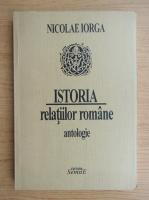 Anticariat: Nicolae Iorga - Istoria relatiilor romane