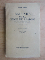 Oscar Wilde - Ballade de la geole de Reading (1944)