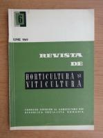 Revista de horticultura si viticultura, nr. 6, iunie 1969