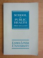 Anticariat: School of public health
