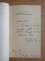 Teodor Tanco - Basarabia, numele tau e Maria (cu autograful autorului)