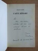 Traian Tandin - Cazul Rimaru (cu autograful autorului)