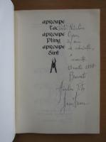 Anticariat: Aurelian Titu Dumitrescu - Aproape tac, aproape plang, aproape sunt (cu autograful autorului)