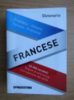 Anticariat: Dizionario francese, francese-italiano, italiano-francese