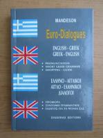 Anticariat: Euro-Dialogues. English-greek, greek-english