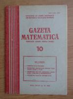 Anticariat: Gazeta matematica, anul LXXXV, nr. 10,1980