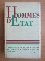 Anticariat: Hommes d'etat (volumul 3, 1936)