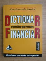 Monica Livia Plamadeala - Dictionar finaniar roman-german