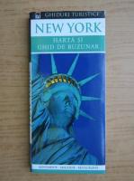 Anticariat: New York. Harta si ghid de buzunar