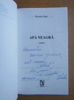 Anticariat: Nicolae Stan - Apa neagra (cu autograful si dedicatia autorului pentru Balogh Jozsef)
