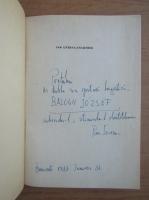 Anticariat: Pan Izverna - Anamnesis (cu autograful si dedicatia autorului pentru Jozsef Balogh)