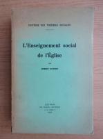 Anticariat: Robert Kothen - L'enseignement social de l'Eglise (1949)