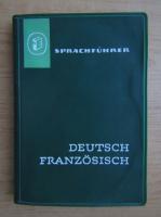 Sprachfuhrer. Deutsch franzosisch