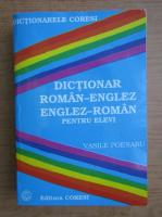 Vasile Poenaru - Dictionar englez-roman pentru elevi
