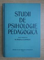 Anticariat: Alexandru Rosca - Studii de psihologie pedagogica