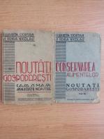 Anticariat: Elisabeta Ciortan - Noutati gospodaresti (2 volume, 1943)