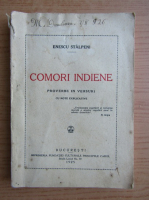Enescu Stalpeni - Comori indiene (1925)