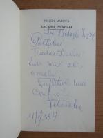 Anticariat: Felicia Marinca - Lacrima Incasului (cu autograful si dedicatia autorului pentru Balogh Jozsef)