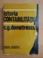 Anticariat: Gheorghe Demetrescu - Istoria contabilitatii