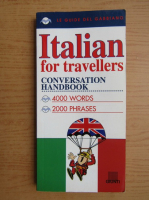 Anticariat: Italian for travellers