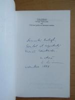 Liviu Grasoiu - G. Toparceanu sau chiriasul grabit al literaturii romane (cu autograful si dedicatia autorului pentru Balogh Jozsef)