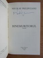 Anticariat: Nicolae Prelipceanu - Binemuritorul (cu autograful si dedicatia autorului)
