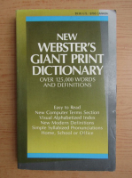 Anticariat: R. F. Patterson - New Webster's giant print dictionary