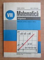 Tiberiu Spircu - Matematica. Algebra. Manual pentru clasa a VII-a (1982)