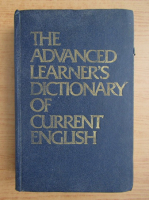 Anticariat: A. S. Hornby - The advanced learner's dictionary of current english