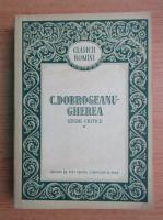 C. Dobrogeanu-Gherea - Studii critice (volumul 1)