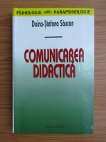 Anticariat: Doina Stefana Saucan - Comunicarea didactica