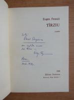 Anticariat: Eugen Frunza - Tarziu (cu autograful autorului)
