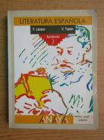 Fernando Lazaro - Literatura espanola