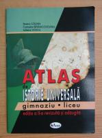 Anticariat: Ileana Cazan - Atlas de istorie universala