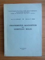 Ion Bunget - Propietatile magnetice ale corpului solid